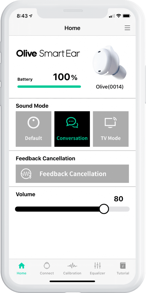 sound mode - conversation mode