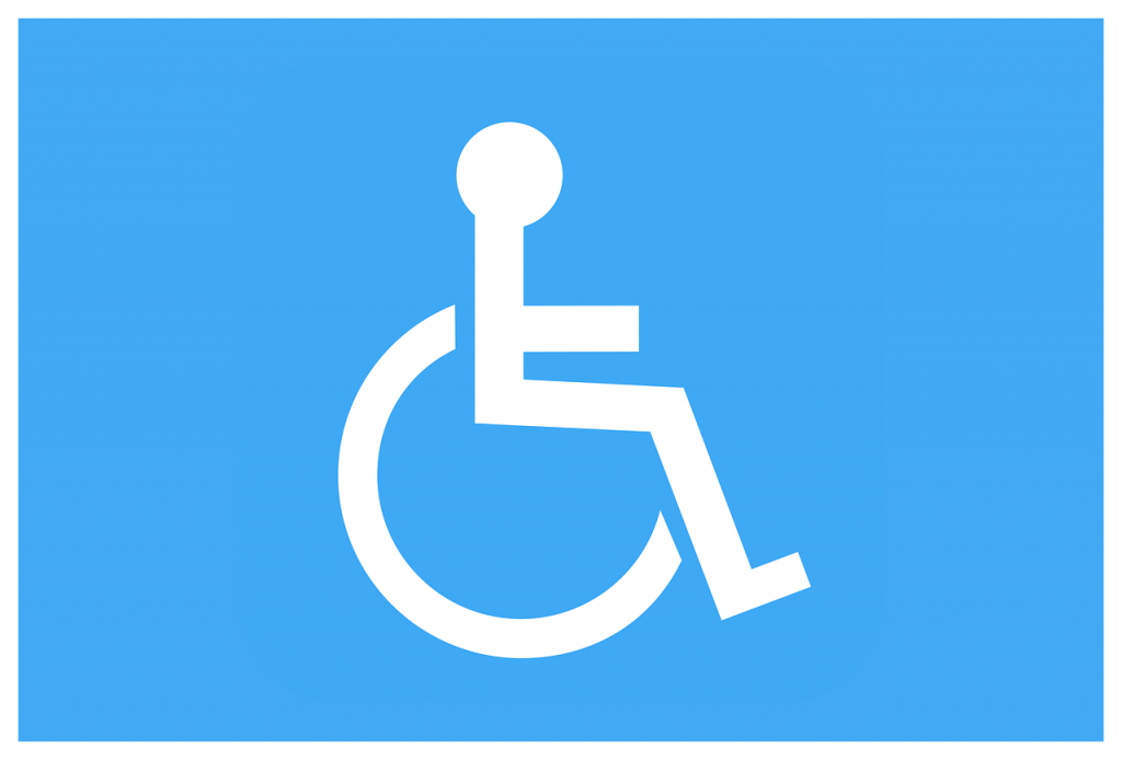 Handicapped Sigh Disability hearing loss at work