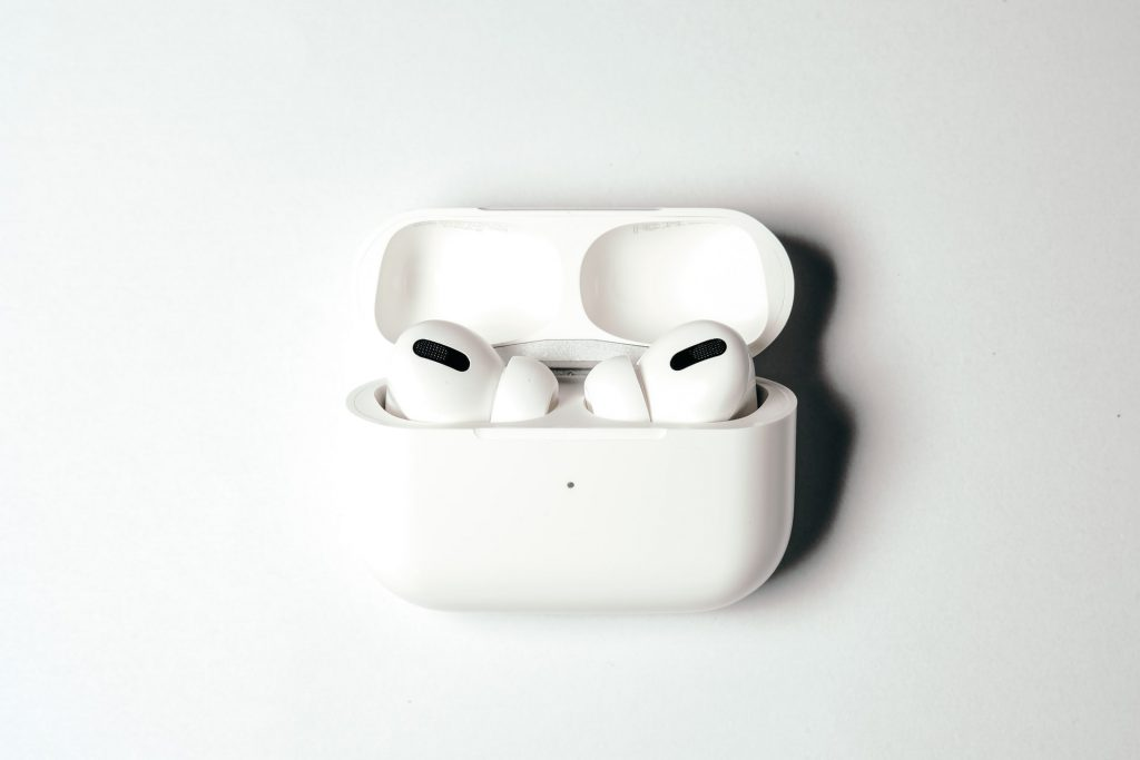 Apple AirPods Pro and Case Picture