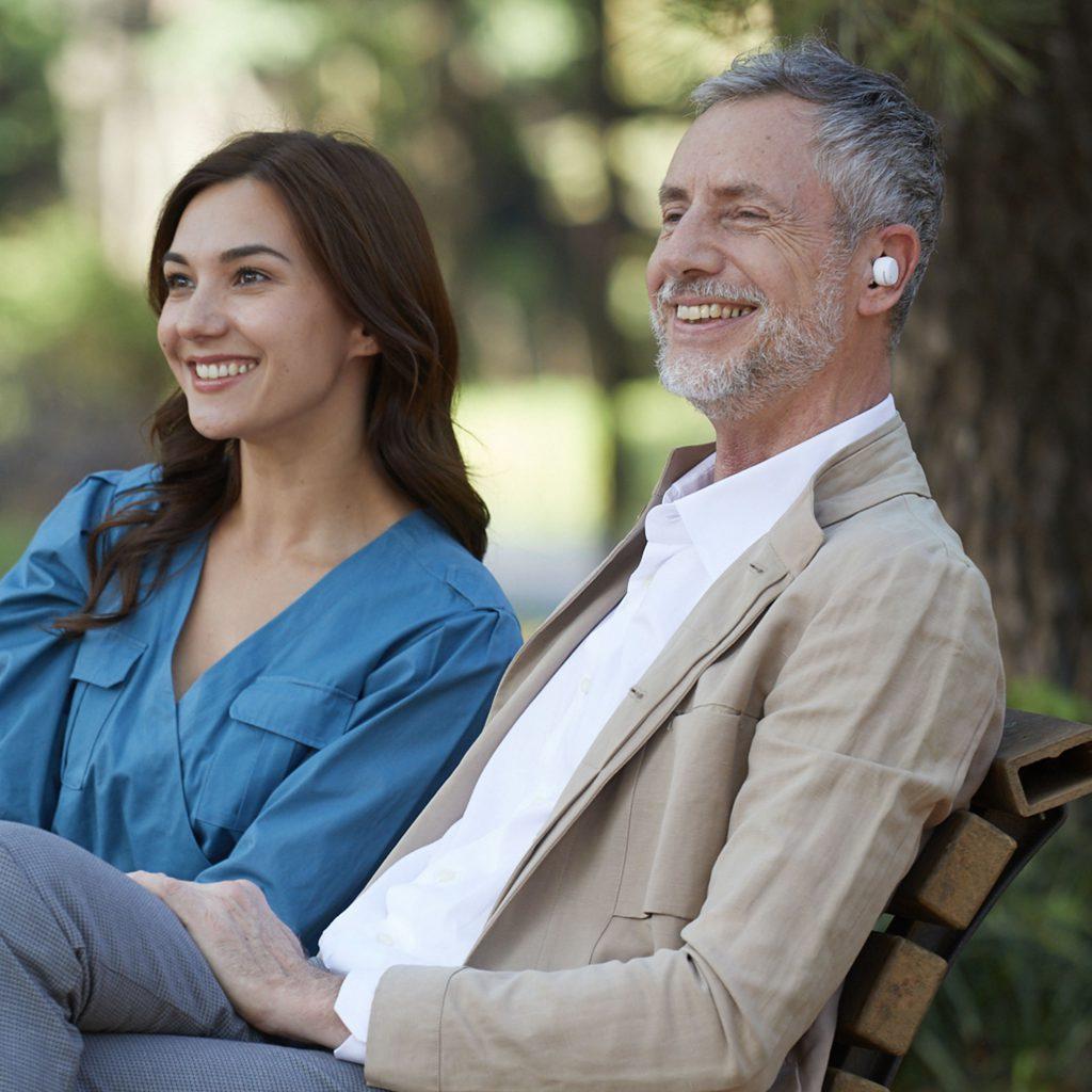 olive smart ear hearable earbud hearing