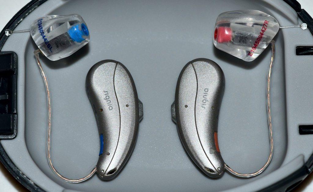 Two Hearing Aids Asymmetrical Hearing Loss